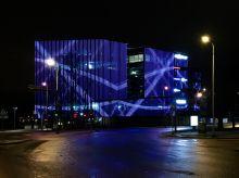 Office building, Tallin, Estonia, media facade 1900m2, PALAMI-MediaTUBE-SMD-50.2-M
